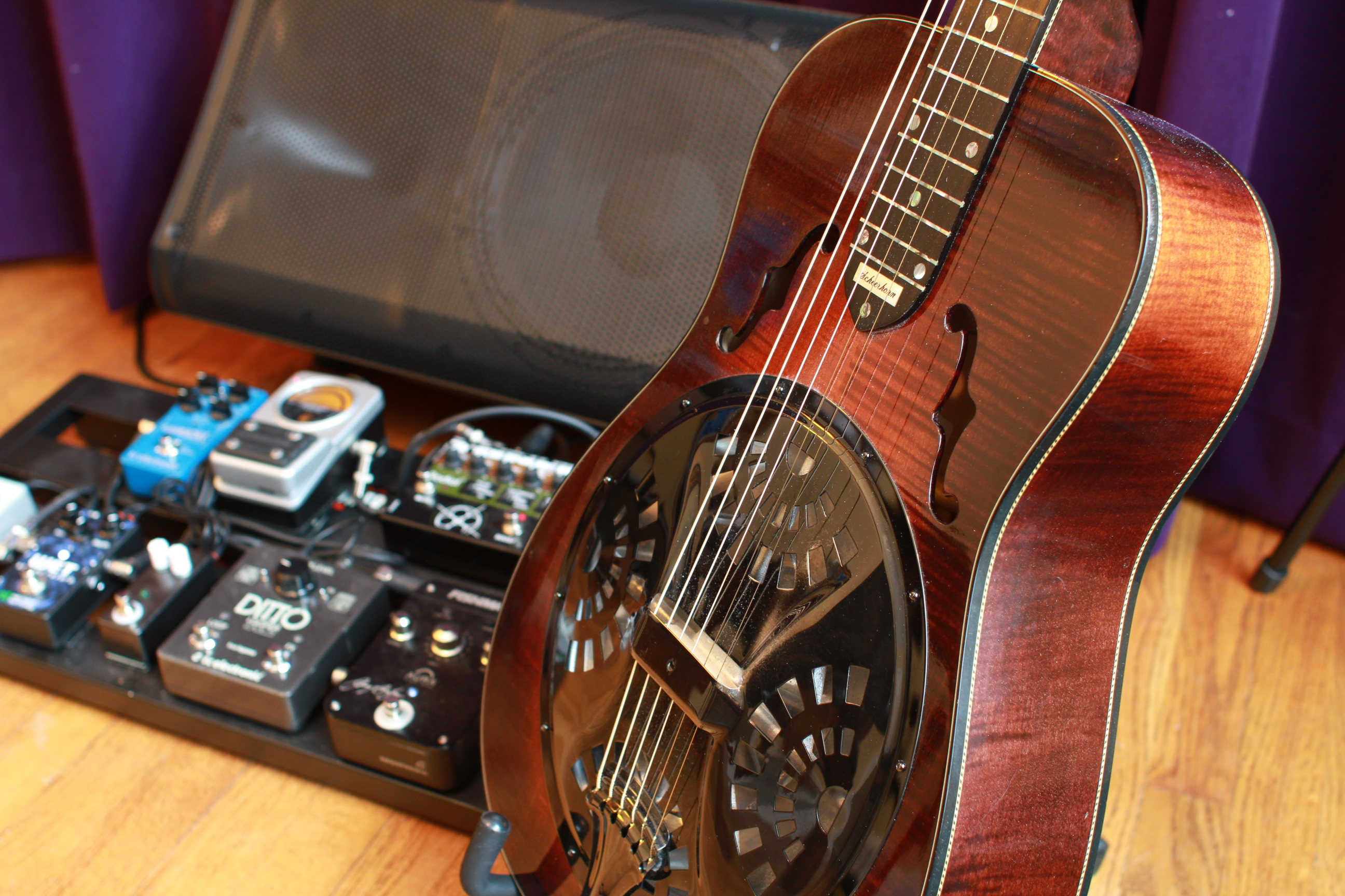 When I Got Started An OMI Dobro Was The Only Choice In Guitars Pickups For Resonator Guitar Were Poorly Designed Or Non Existant