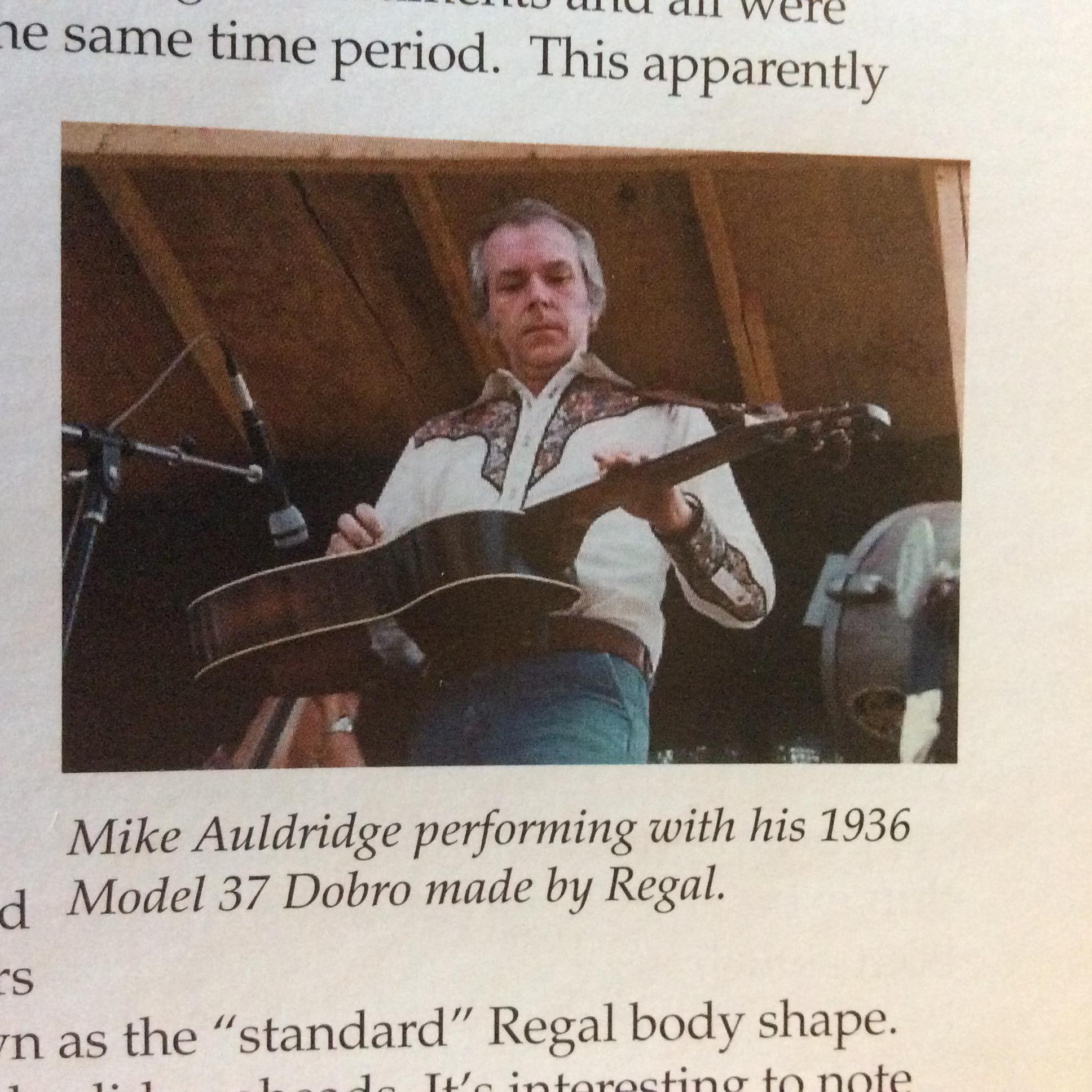 Mike Auldridge