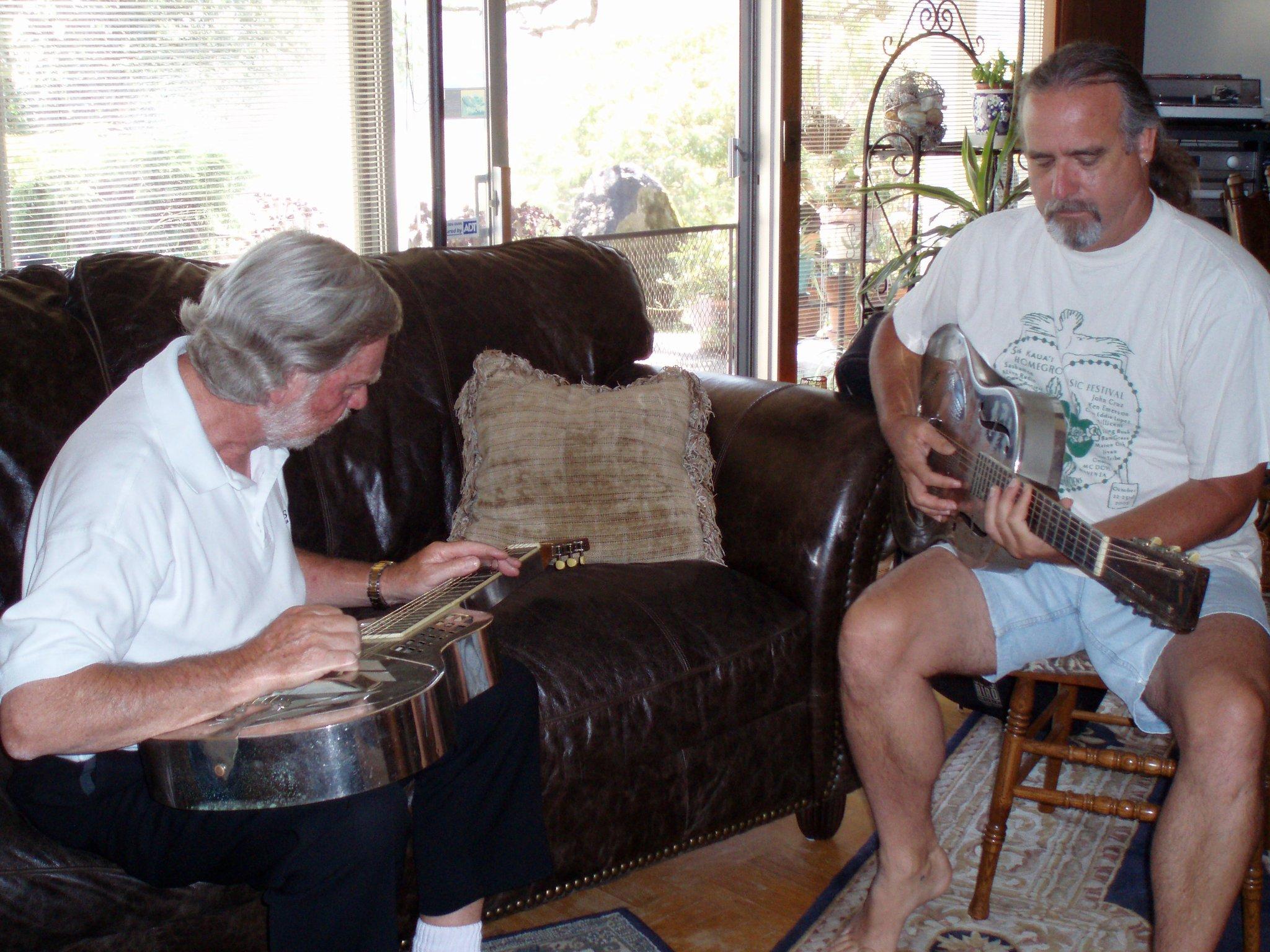Ken Emerson with Jim Dunlop