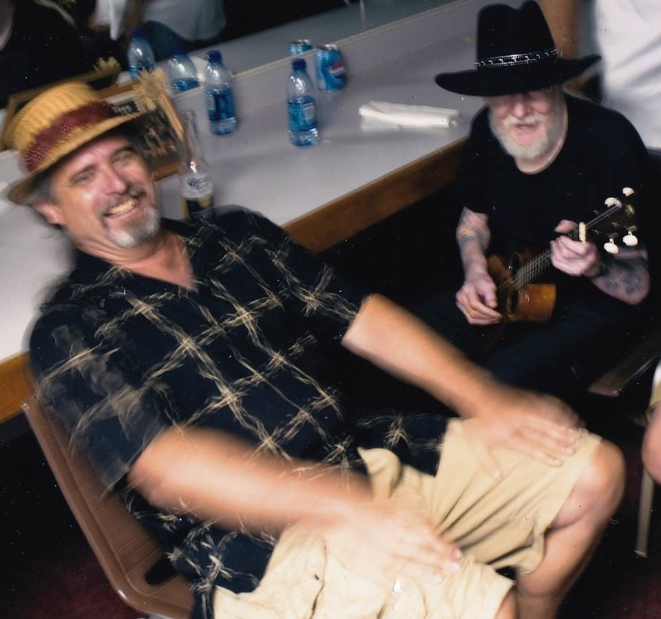 Ken Emerson with Johnny Winter