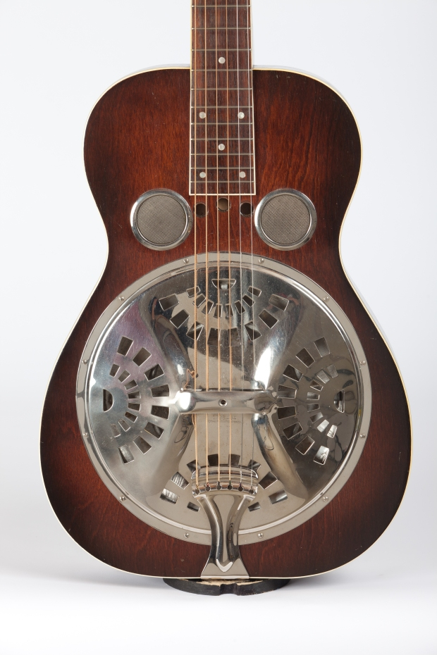 Dobro body with 3 small holes